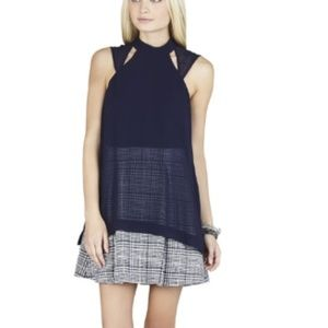 BCBG Generation 4 Top Overlay Dress NWT